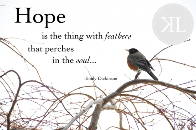 Source: http://kerrilynneblog.com/2013/03/hope-is-the-thing-with-feathers-inspiration-friday/